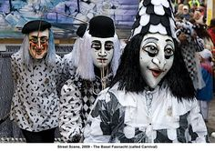 Photo: Street Scene, 2009 - The Basel Fasnacht (called Carnival). This Photo was uploaded by artimageslibrary Halloween Carnival, Halloween Party, Jean Tinguely, Europe, Masquerade Party, Portraits, Mardi Gras, Pagan, Halloween Face Makeup