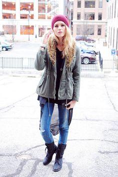 Blair featuring Diesel Jeans www.diesel.com/female #SuccessfullyStyled #StreetStyle