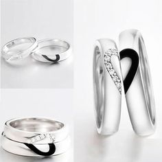 Infinity Love - ByW Infinity Love, Ideas Para, Perfect Wedding, Wedding Planner, Wedding Rings, Jewels, Engagement Rings, Bride, Party