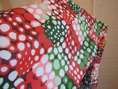 Vintage 70's Retro Bubble Print Head Scarf by POPWILDLIFE on Etsy, $10.00