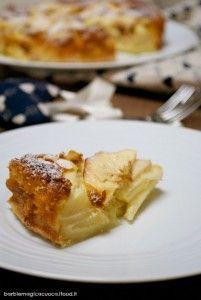Bolzano apple cake senza burro - Torta di mele super melosa