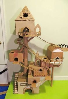 Rat castle @Katie Dougherty  I think the guys need to make these this weekend.