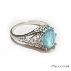 Ring - Sterling Silver Turquoise Quartz