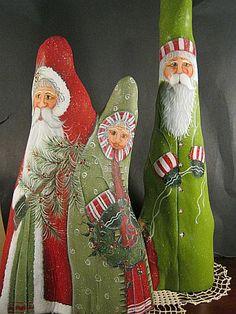 cypress knee santa   Cypress Knee Santas
