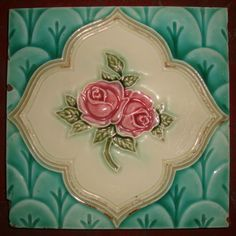 vintage japanese tile . made by Danto Kaisha   ... artdeco  disign  tile  #ArtDeco
