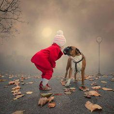 Sofía & her doggie