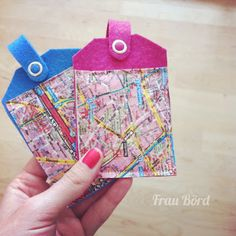 How to sew: luggage tags / labels