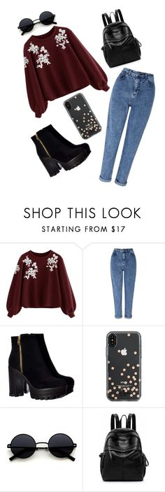 """87"" by andreea-narcisa-obreja on Polyvore featuring Miss Selfridge and Kate Spade"