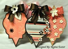 Paper Christmas Ornaments | Hand to Paper: CHRISTMAS ORNAMENT SET.....