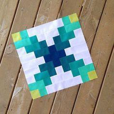 The Irish Chain Modern Block Quilt Free Pattern