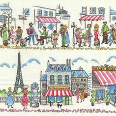 Paris Ville fabric