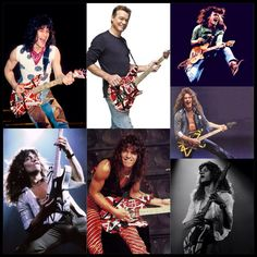 Happy birthday to my childhood hero & greatest rock n' roll guitarist of all-time... The King EDDIE VAN HALEN!!!'