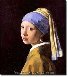 Jan Vermeer | Girl with a Pearl Earring - Direct Art Australia. Minimum Size: 50 x 60 cm,  Maximum Size : 100 x 150 cm. www.directartaustralia.com.au/
