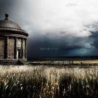 Mussenden Temple, Castlerock, Co. Antrim, Northern Ireland - All my landscape images available for instant download for a one-time $47 - Ltd Time Only!