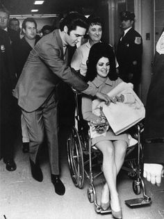 Lisa Marie Presley    Presley and wife Priscilla welcomed Lisa Marie, his only child, on Feb. 1, 1968. She has since gone on to have her own music career, with a third album, Storm & Grace, released in May 2012. She is set to make her debut at the Grand Ole Opry in Nashville on Aug. 21, 2012.