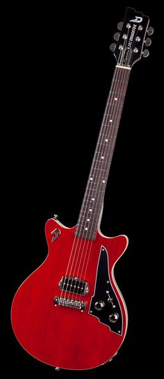 Duesenberg Guitars Dragster Double Cutaway Cherry Red