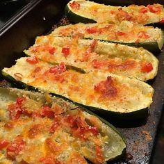50 cents worth of Baked Zucchini transformed by Chef dq I Foods, Zucchini, Vegetables, Recipes, Instagram, Summer Squash, Recipies, Vegetable Recipes