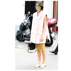 LEANDRA SCHOOL #emmetrend #leandramedine #fashionblogger #streetstyle