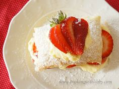 Made with vanilla pudding, sliced strawberries, and puff pastry, this Easy and Decadent Strawberry Napoleon Dessert will have your taste buds singing.