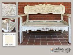 White Washed Bench | Colorways | Bloglovin'