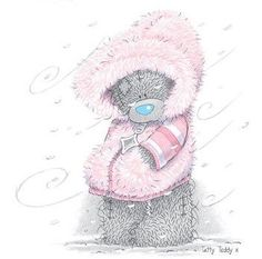 Osito tierno con mucho frío- Blue Nose