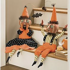 Holidays Halloween, Halloween Decorations, All Saints Day, Pumpkin Faces, Primitive Crafts, Reborn Babies, Hallows Eve, Rustic Decor, Decorative Items