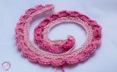 Virkatun ruusun ohje - LANKAHELVETTI Crochet Flowers, Crochet Earrings, Henna, Knitting, Jewelry, Jewlery, Tricot, Jewerly, Crocheted Flowers