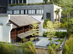 Park Hyatt Sanya Sunny Bay Resort   Tea House Courtyard