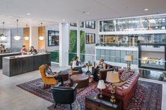A Tour of Airbnb's Gorgeous New San Francisco Headquarters - Officelovin