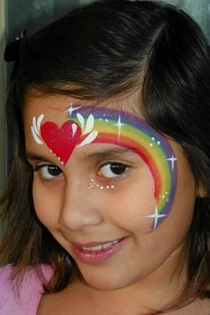 Cool Face Painting Ideas For Kids, which transform the faces of little ones without requiring professional-quality painting skills. painting designs 30 Cool Face Painting Ideas For Kids Girl Face Painting, Painting For Kids, Body Painting, Face Paintings, The Face, Face And Body, Full Face, Rainbow Face Paint, Rainbow Painting