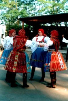 Sudomerice Costumes Around The World, European Countries, Folk Costume, Little Miss, Beautiful Patterns, Czech Republic, Folklore, Paper Dolls, Doll Clothes