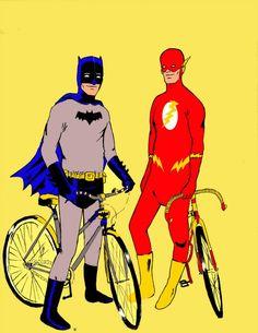 Ilustração feita do nada, acho que estava afim de desenhar bicicletas