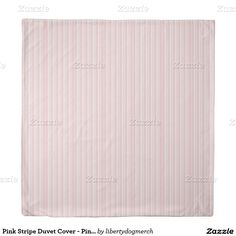 Pink Stripe Duvet Cover - Pink & White Gifts - Hom