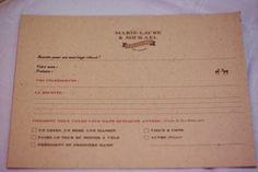 """Un beau jour - Photo Floriane Caux (33) livre d'or : boîte à recette. Chacun écrit une fiche recette sur """"un mariage réussi"""", les ingrédients qu'il faut, et comment ils voient le couplé quelques années plus tard. Superbe idée et la boîte pour recueillir les fiches est très belle"""