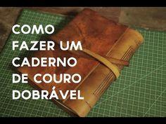 Como fazer um caderno de couro – PapodeHomem