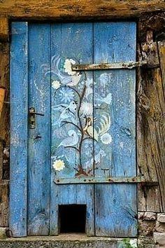 Дверь Деревня