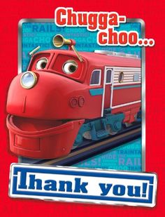 Greeting Cards & Invitations Chuggington Train Thank You Cards Birthday Party Supplies Stationery Notes & Garden Little Man Birthday, 8th Birthday, 2nd Birthday Parties, Birthday Ideas, Chuggington Birthday, Monster Jam Toys, Get The Party Started, Party Stores, Happy Birthday Banners