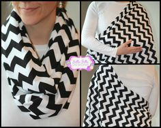 Nursing scarf, what a great idea! Wear it as a scarf, then open it up to discreetly nurse. Love!!!