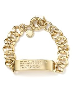 MARC BY MARC JACOBS Standard Supply ID Bracelet | Bloomingdale's