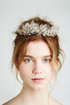 Feather & Coal Hair Accessories | Emily Kent Wedding Hair | Bridal Musings Wedding Blog 5