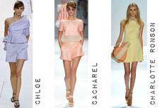 Pastel colours on SS'13 Catwalks #TopshopPromQueen
