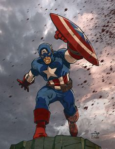 The First Avenger by MikeDimayuga on DeviantArt