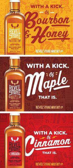 Revel Stoke Whisky labels