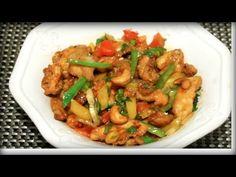 ক্যেশু নাট সালাদ || Bangladeshi Chinese Restaurant Cashew Nut Salad || Bangla Chinese Recipe - YouTube