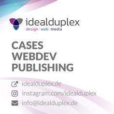 Our new client cases – webdev · design · publishing Design Web, Creative Design, Print Design, Graphic Design, Corporate Design, Design Agency, Case Study, Web Development, Service Design