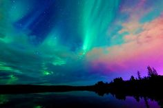 Gorgeous Northern Lights. Photo taken by - Unknown(but appreciated)
