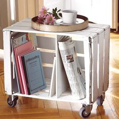 Idée de meuble en palettes de bois