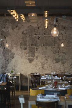 Mezzo Restaurant in Rome @ Giulio Riotta Photography