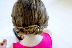 Toddler Hair tutorial