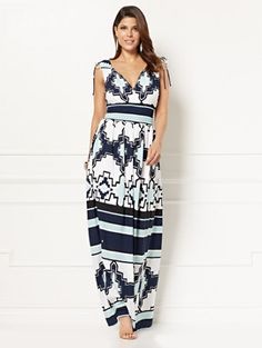 Shop Eva Mendes Collection - Eden Maxi Dress. Find your perfect size online at the best price at New York & Company.